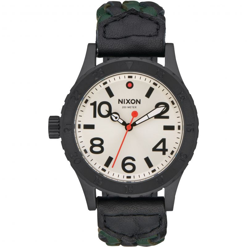Unisex Nixon The 38-20 Leather Watch A467-2357