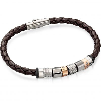 Bijoux Homme Fred Bennett & Leather Bracelet B4544