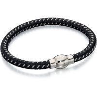 Mens Fred Bennett Stainless Steel & Nylon Bracelet B4734