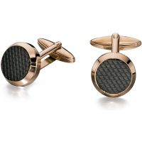 Mens Fred Bennett Rose Gold Plated Cufflinks V498