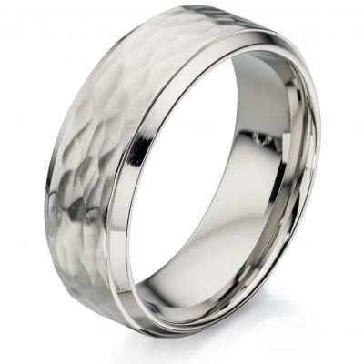 Fred Bennett Heren Ring Size R.5 Roestvrijstaal R3414-60