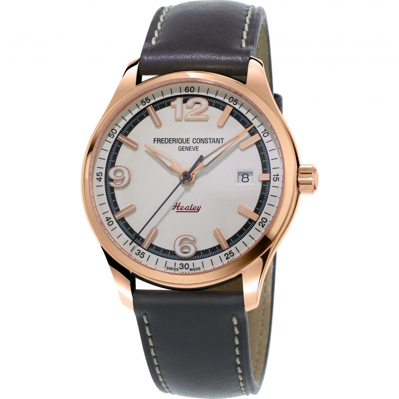 Mens Frederique Constant Healey Limited Edition Automatic Watch FC-303WGH5B4