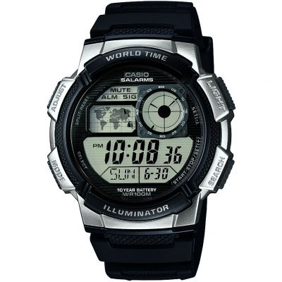 Casio World Time Herrkronograf Svart AE-1000W-1A2VEF