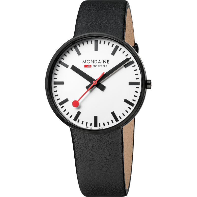 Mens Mondaine Swiss Railways Evo Giant Watch A6603032861SBB