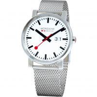 Mens Mondaine Swiss Railways Big Date Watch