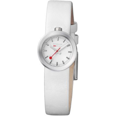 Ladies Mondaine Swiss Railways Aura Watch A6663032416SBA