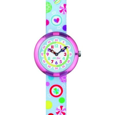 Flik Flak Candies Kinderuhr in Mehrfarbig FBNP064