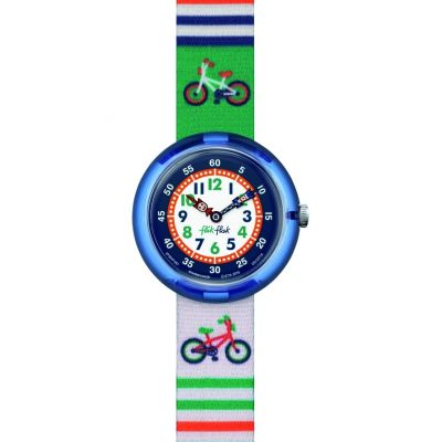 Flik Flak Cycling Kinderuhr in Mehrfarbig FBNP067