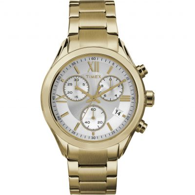 Timex Classic City Damenchronograph in Gold TW2P93700