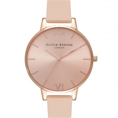 Sunray Rose Gold & Nude Peach Watch