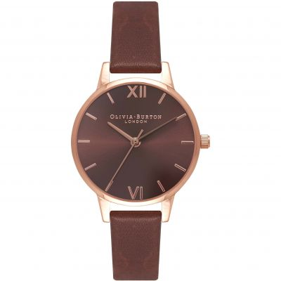 Chocolate Dial Brown & Rose Gold Watch