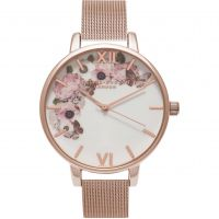 Ladies Olivia Burton Winter Garden Floral Print Watch OB16WG18