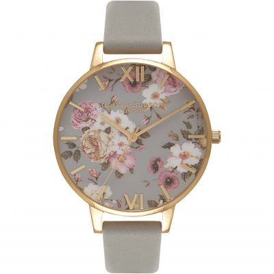Flower Show Rose Gold  & Grey Watch