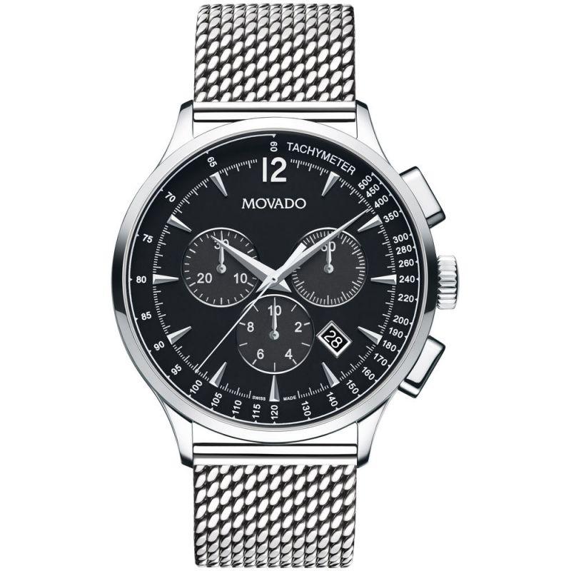 Mens Movado Circa Chronograph Watch