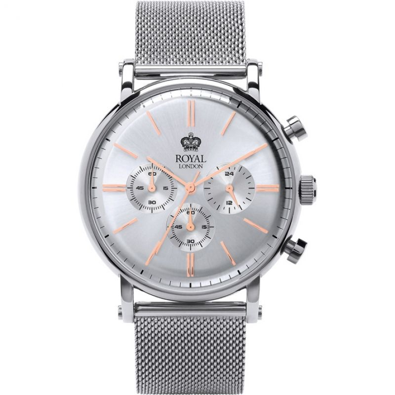 Mens Royal London Chronograph Watch 41330-07