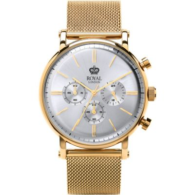 Mens Royal London Chronograph Watch 41330-08