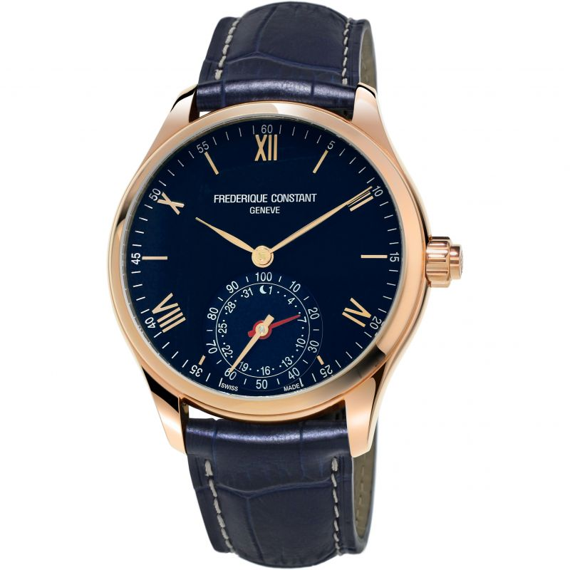 Mens Frederique Constant Horological Smartwatch Bluetooth Hybrid Watch FC-285N5B4
