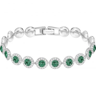 Ladies Swarovski Rhodium Plated Angelic Bracelet 5237769