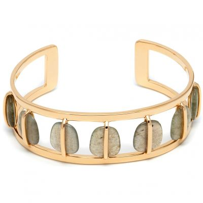 Biżuteria damska Lola Rose Jewellery Labradorite Bassa Bangle 580441