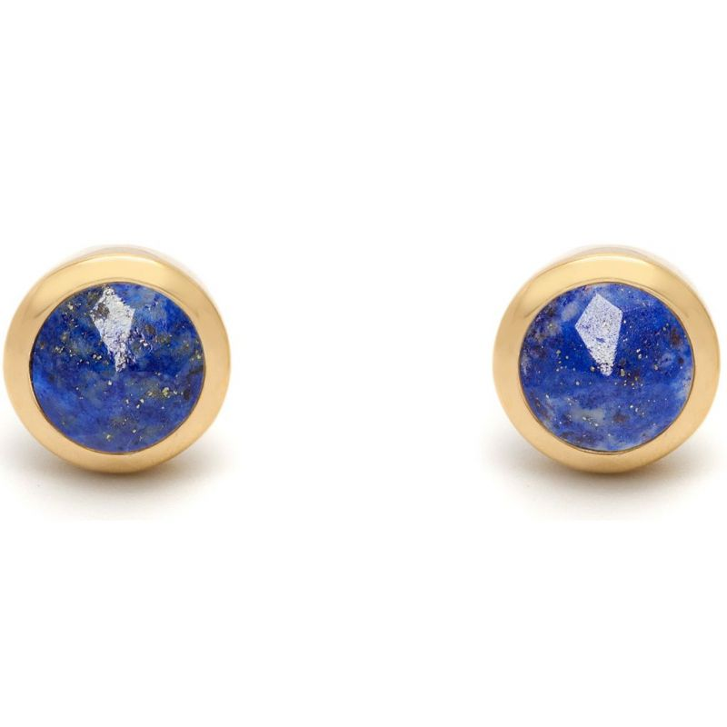 Ladies Lola Rose Gold Plated Lapis Lazuli Nerio Earrings 548212