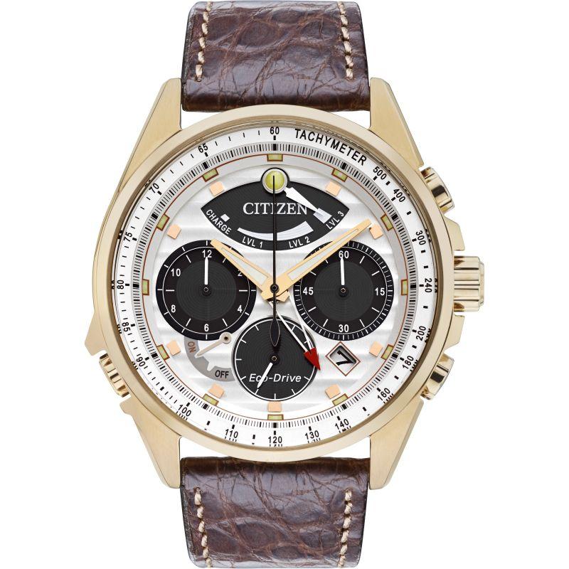 Mens Citizen Calibre 2100 Limited Edition Alarm Chronograph Watch