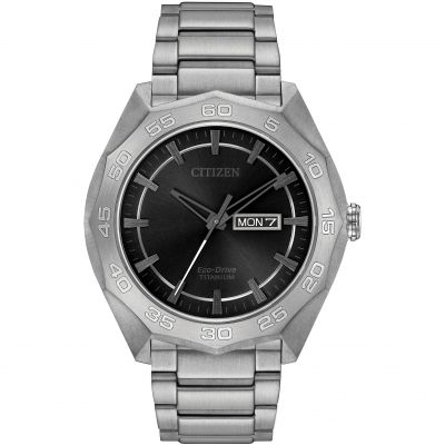 Mens Citizen Titanium Watch AW0060-54H