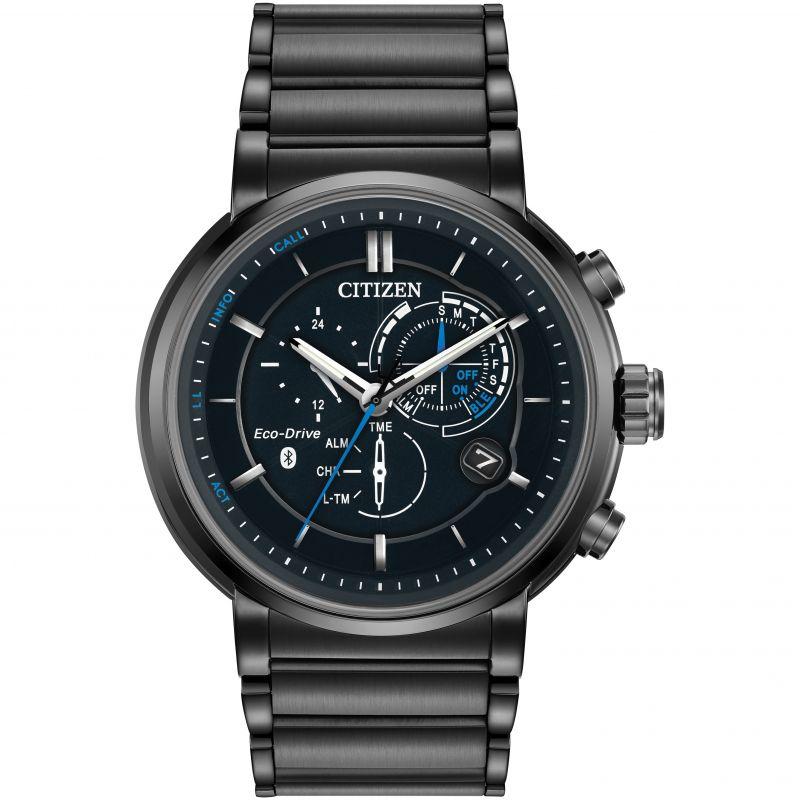 Mens Citizen Bluetooth Proximity Hybrid Smartwatch Alarm Watch