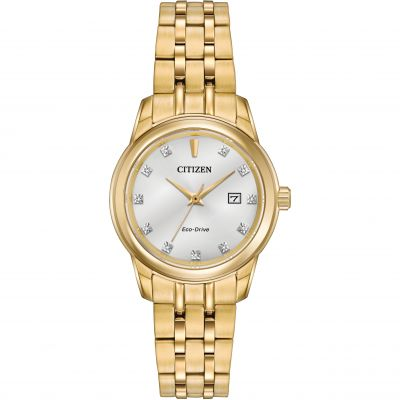 Citizen Damenuhr in Gold EW2392-54A