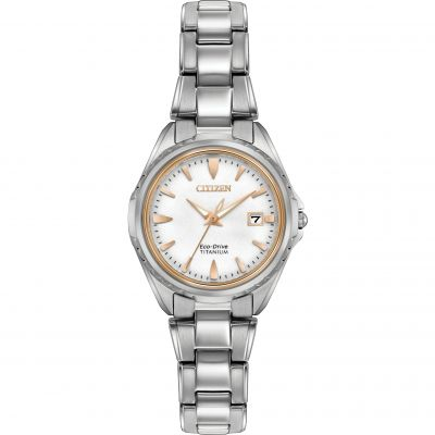 Ladies Citizen Titanium Watch EW2410-54A