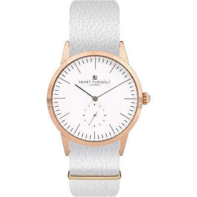 Montre Femme Smart Turnout Signature STK3/RO/56/W-WHI