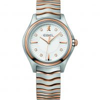 Ladies Ebel Wave Diamond Watch 1216306