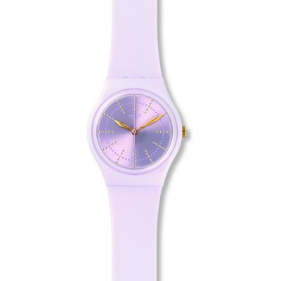 Swatch Original Gent Guimauve Unisexuhr in Lila GP148