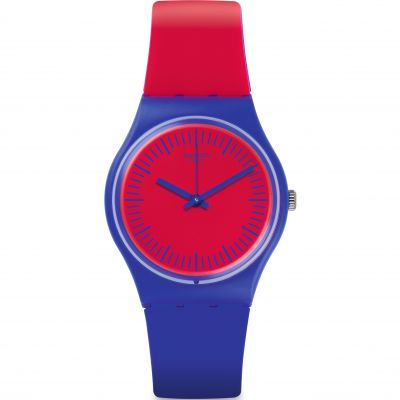 Unisex Swatch Blue Loop Watch GS148