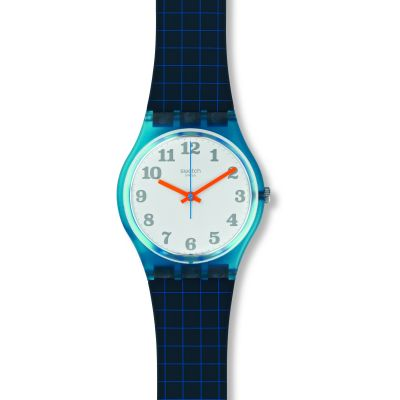 Swatch Original Gent Back To School Unisexuhr in Blau GS149