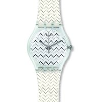 Unisex Swatch Wavey Dots Watch SUOK118