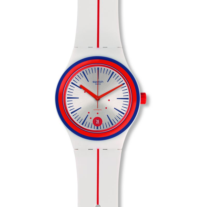 Unisex Swatch Sistem Arlequin Automatic Watch
