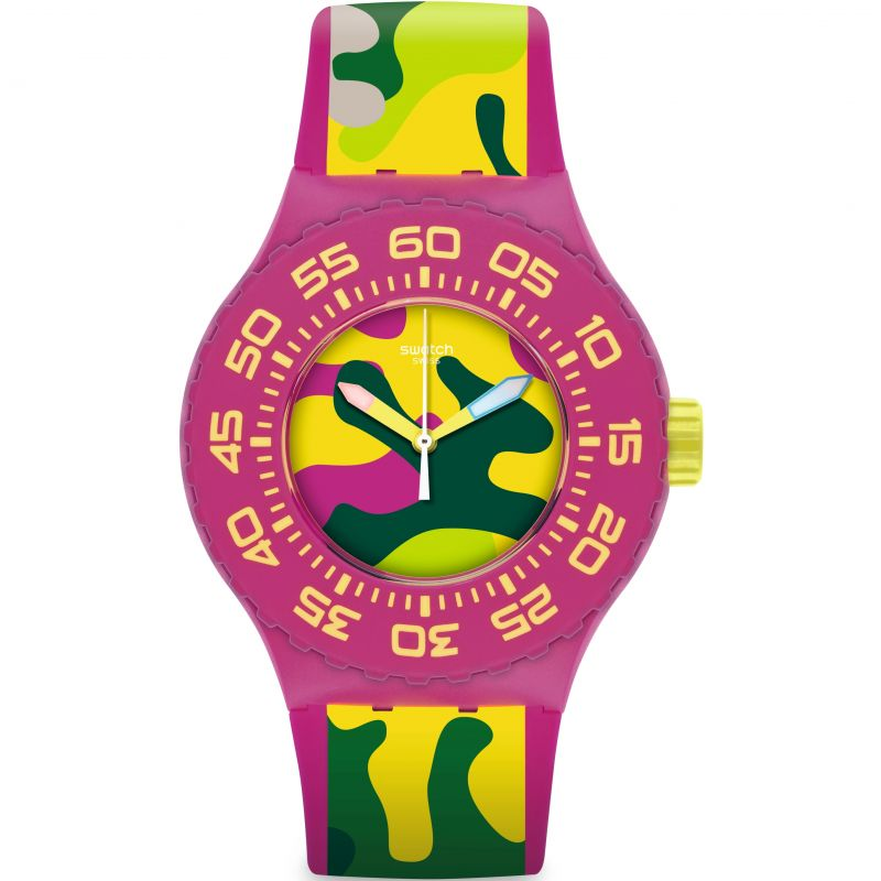 Unisex Swatch Capink Watch SUUP101