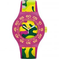 Unisex Swatch Capink Watch