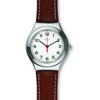 Orologio da Unisex Swatch Strictly Silver YGS131