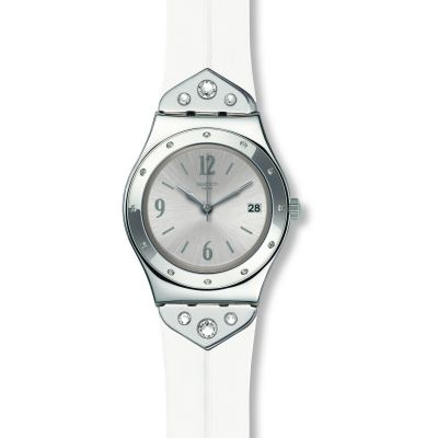 Swatch Scintillating Dameshorloge Wit YLS450