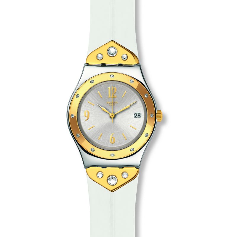 Ladies Swatch Mezzanotte Watch YLS451