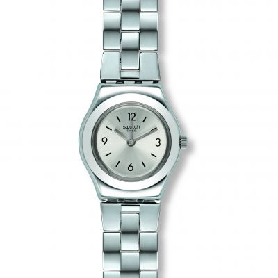 Swatch Irony Small Gradino Damenuhr in Silber YSS300G