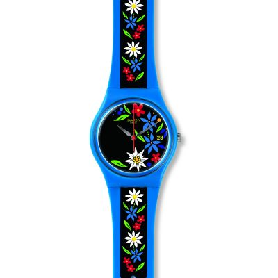 Unisex Swatch Edelblau Watch GN412