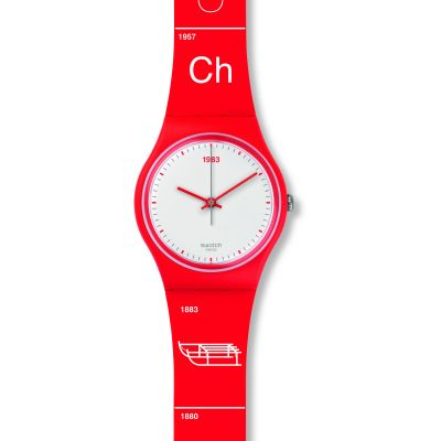 Unisex Swatch Schwiizitude Watch GR168