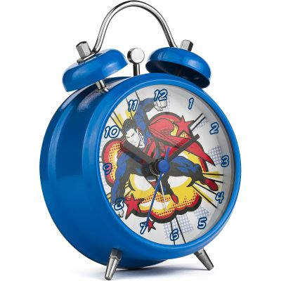 Character Superman Mini Twin Bell Alarm Alarm Clock SUP6DC