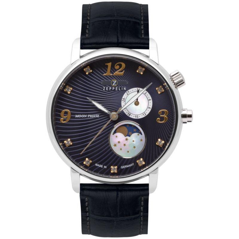 Mens Zeppelin Luna Mondphase Watch