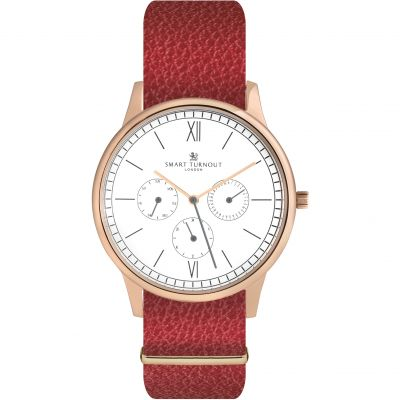 Montre Femme Smart Turnout Time STK2/RO/56/W-RED