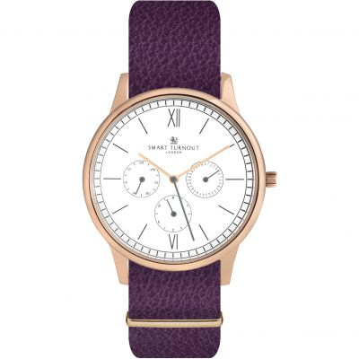 Montre Femme Smart Turnout Time STK2/RO/56/W-PUR