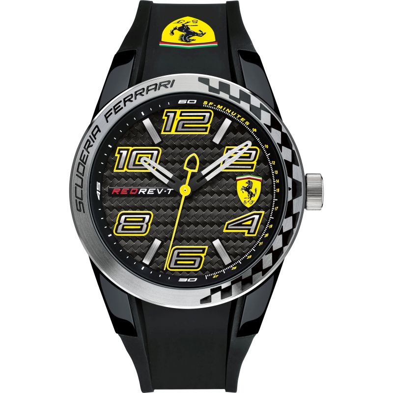Mens Scuderia Ferrari Redrev T Watch 0830337