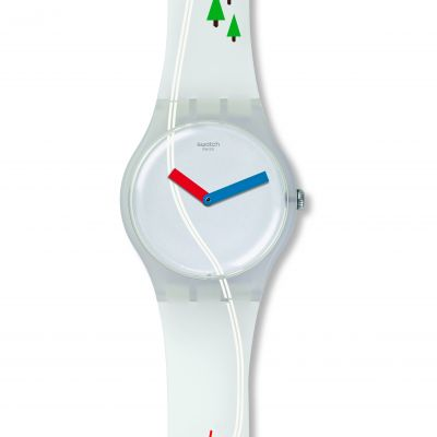 Unisex Swatch Tschuss Watch SUOW137